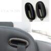 Επένδυση ξύλου ζώνης ασφαλείας για Mercedes Benz CLK W209 - Ashtree black / Esche dunkel