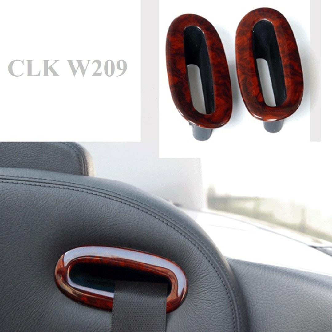 Επένδυση ξύλου ζώνης ασφαλείας για Mercedes Benz CLK W209 - Burl / Wurzel