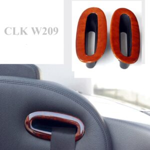 Ξύλινη επένδυση ζώνης ασφαλείας για Mercedes Benz CLK W209 – Ashtree bright / Esche hell