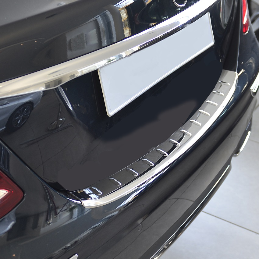 Stainlees Steel Bumper Protection for Mercedes Benz E-Klasse Sedan W213 from 04.2016
