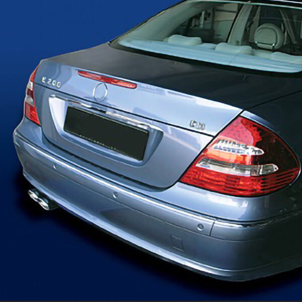 Chrome Exhaust Tail Pipes (2pipes) for Mercedes Benz E-Class W211 Sedan 200CDI & 220CDI , 2002 - 05-2006.