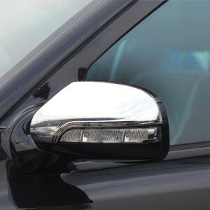 Καπάκια καθρεπτών χρωμίου για Mercedes Benz E-Class W211 από 06/2006