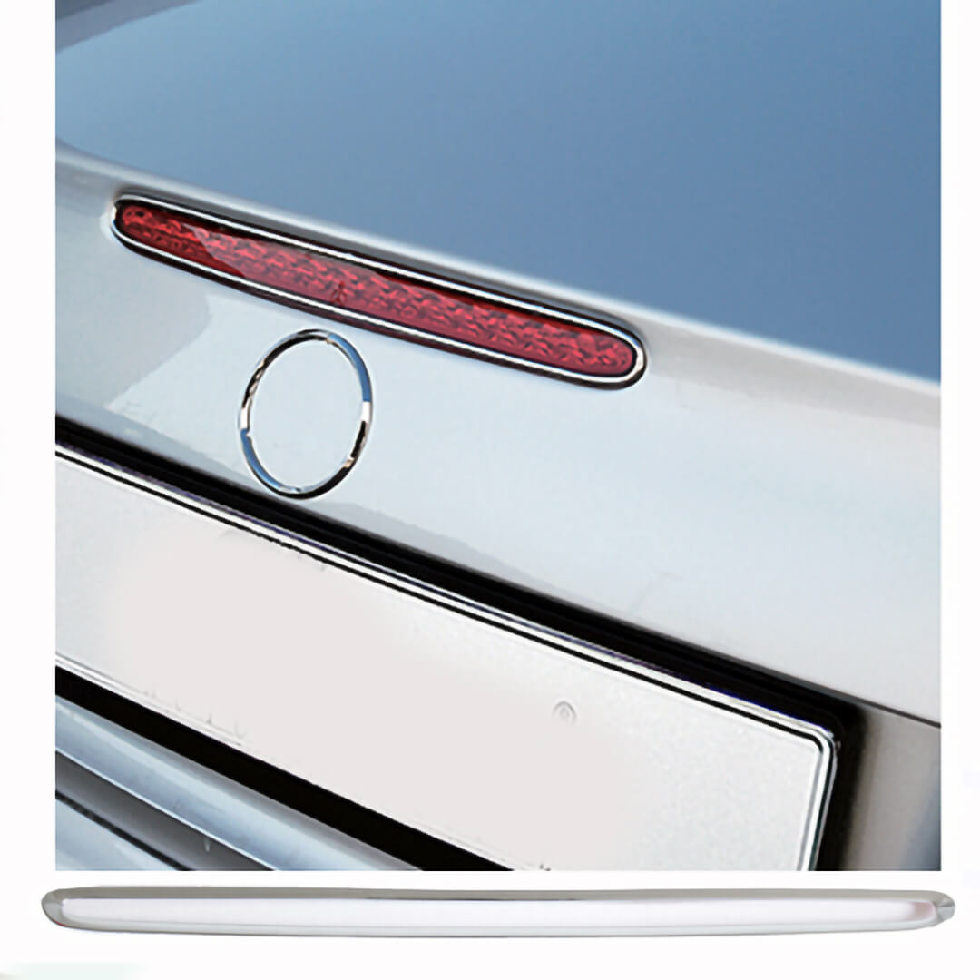 Πλαίσιο χρωμίου τρίτο φως φρένου για Mercedes Benz E-Class W211 λιμουζίνα.