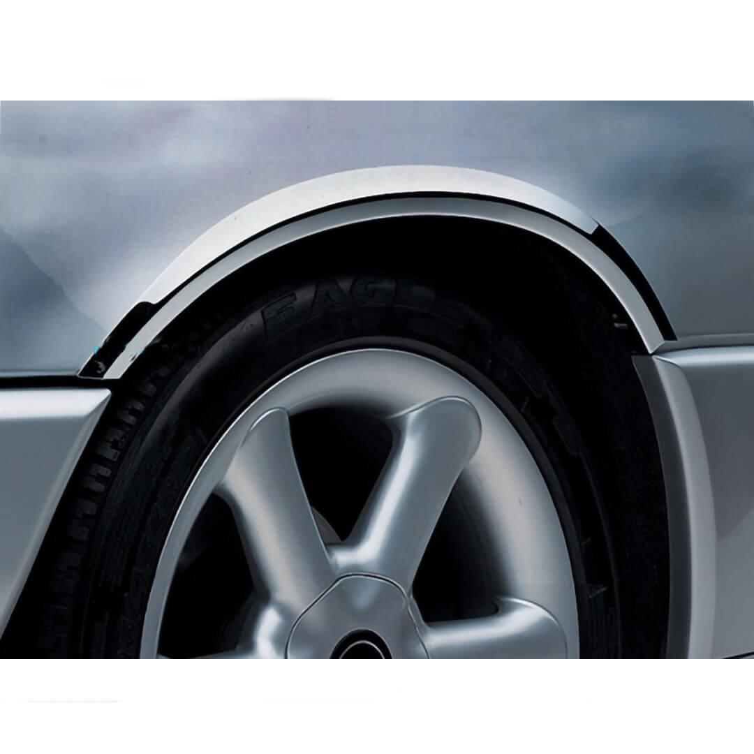 Χρώμια φτερών από ανοξείδωτο ατσάλι για Mercedes Benz