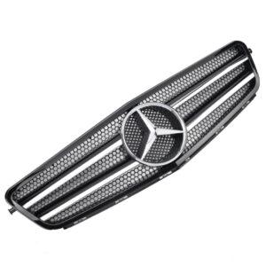Μάσκα μαύρη Look AMG για Mercedes Benz C-Class W204