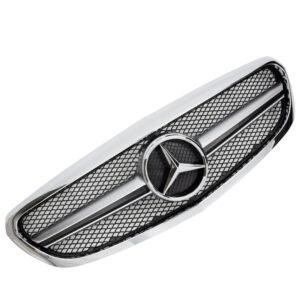 Μάσκα χρωμίου sport Look AMG για Mercedes Benz C-Class W205 από 2014-2018