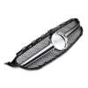 Μάσκα μαύρη sport Look AMG για Mercedes Benz C-Class W205 από 2018