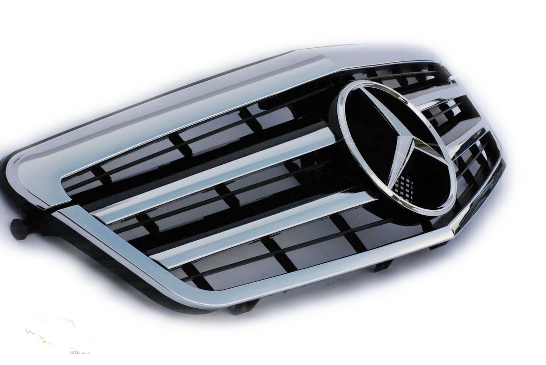 Μάσκα sport Look AMG για Mercedes Benz Ε-Class W211 2002-2006 (Πλάγια Όψη)