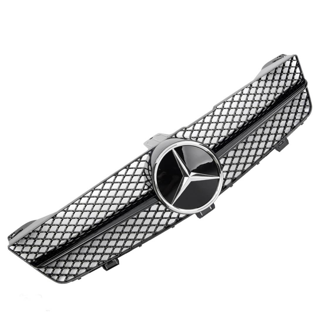 Μάσκα sport μαύρη Look AMG για Mercedes Benz CLS W219 2008-2010