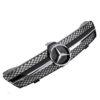 Μάσκα sport μαύρη / χρώμιο Look AMG για Mercedes Benz CLS W219 2004-01/2008