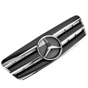 Μάσκα μαύρη sport Look AMG για Mercedes Benz CLK W208