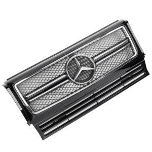 Μάσκα μαύρη / χρωμίου Look AMG για Mercedes Benz W463 G 1990-2012