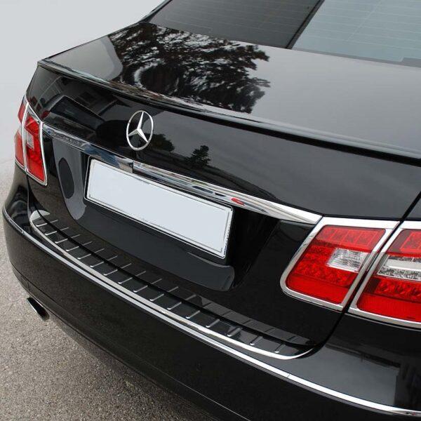 Ανοξείδωτο προστατευτικό πορτ μπαγκάζ για Mercedes Benz E Class W212 λιμουζίνα από 2009 έως 2016