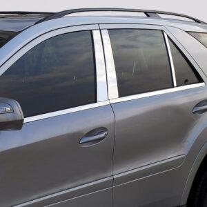 Ανοξείδωτη επένδυση για τις μεσαίες κολώνες για Mercedes Benz E-Class W211 λιμουζίνα από 03/2002 έως 03/2009