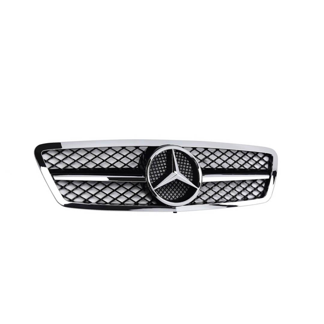 Μάσκα χρωμίου Look AMG για Mercedes Benz C-Class W204