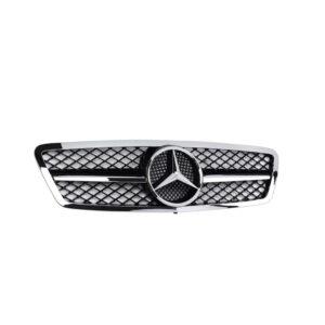 Μάσκα χρωμίου Look AMG για Mercedes Benz C-Class W203