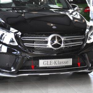 Aνοξείδωτη γρίλια κάτω μάσκας για Mercedes Benz GLE W166