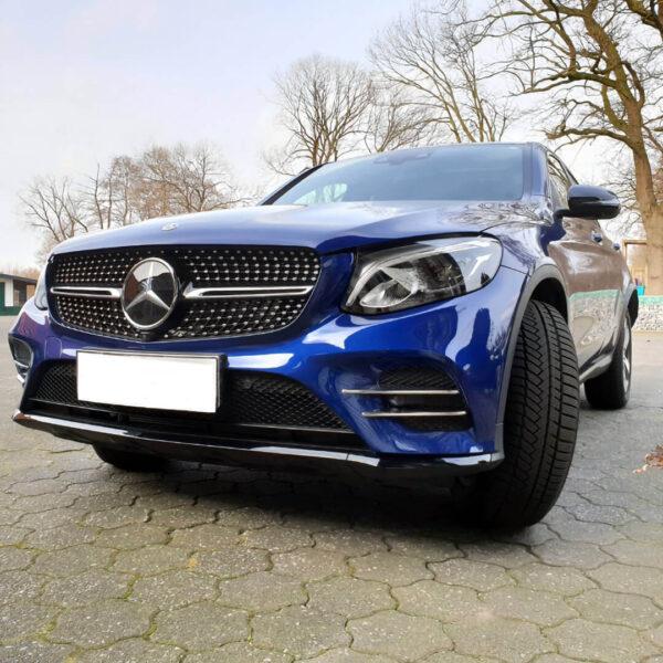 Γρίλιες αεραγωγού προφυλακτήρα για Mercedes GLC X253 SUV & GLC Coupé C253.