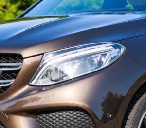 Χρώμια προβολέων για Mercedes Benz GLE W166 από 12/2015