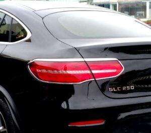 Χρώμια πίσω φαναριών για Mercedes Benz GLC C253 Coupé από 06/2015