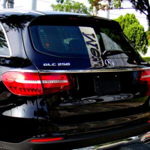 Χρώμιο λαβής πορτ-μπαγκάζ για Mercedes Benz GLC X253 SUV από 06/2015