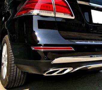 Πλαίσιο χρωμίου ανακλαστήρα για Mercedes Benz GLE W166