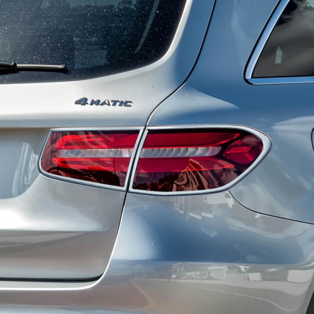Χρώμια πίσω φαναριών για Mercedes Benz GLC X253 SUV.