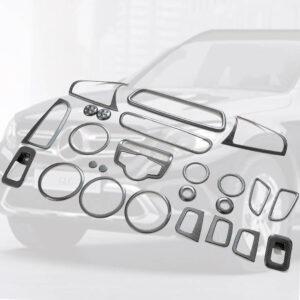 Διακοσμητικά εσωτερικά Σετ Carbon Look για Mercedes Benz GLC X253 SUV