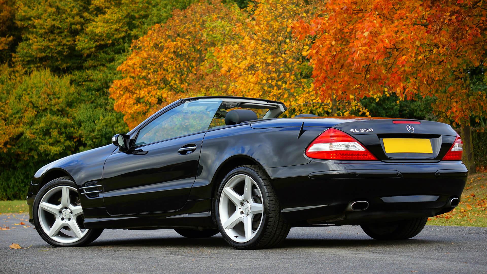 SL Class Mercedes Benz.