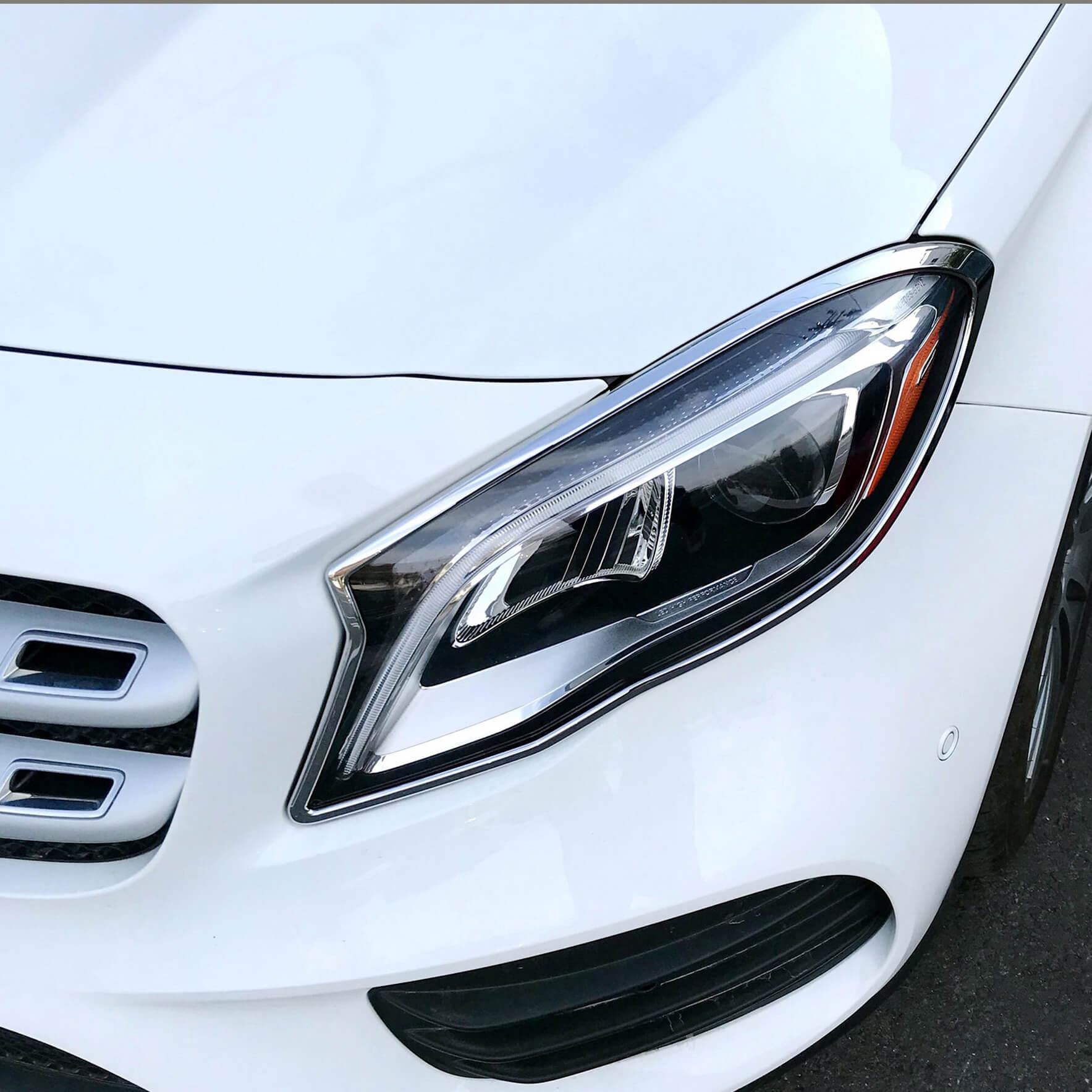 Χρώμια προβολέων για Mercedes Benz GLA X156 από 02/2017