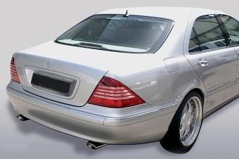 Χρώμιο εξάτμισης για Mercedes Benz S-Class W220