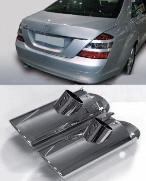 Χρώμιο εξάτμισης για Mercedes Benz S-Class W221