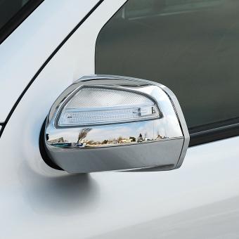 Καπάκια καθρεπτών χρωμίου για Mercedes Benz ML Class W164 και GL X164 από 08/08 έως 05/10
