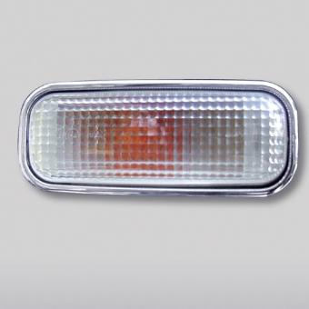 Στεφάνια χρωμίου για πλευρικά φλας για Mercedes Benz ML Class W163