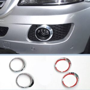 Πλαίσιο χρωμίου προβολέων ομίχλης (στρογγυλά) για Mercedes Benz ML Class W164 από 2005 έως 07/2008