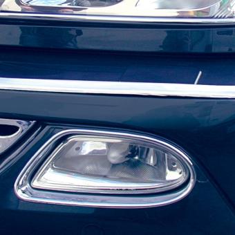 Πλαίσιο χρωμίου προβολέων ομίχλης για Mercedes Benz ML Class W163