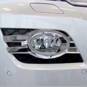 Πλαίσιο χρωμίου προβολέων ομίχλης (οβάλ) για κινούμενους προβολείς για Mercedes Benz ML Class W164 από 08/2008 έως 06/2011