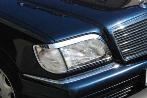 Χρώμια προβολέων για Mercedes Benz S-Class W140