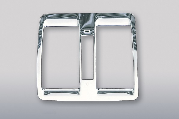Χρώμιο αεραγωγών πίσω κεντρικής κονσόλας για Mercedes Benz S-Class W140