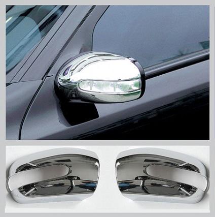 Καπάκια καθρεπτών χρωμίου για Mercedes Benz S-Class W220 & CL-Class W215