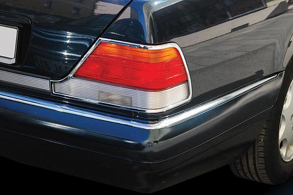 Χρώμια πίσω φαναριών για Mercedes Benz S-Class W140