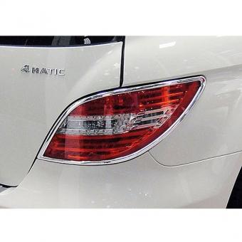 Χρώμια πίσω φαναριών για Mercedes Benz R-Class W251 από 09/2010
