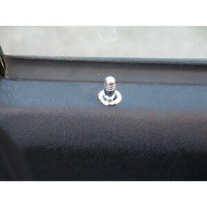Ασφάλειες πόρτας με δακτυλίδι χρωμίου για Mercedes Benz 2-πορτο