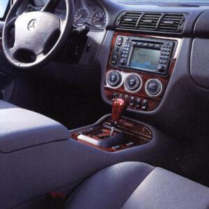 Στεφάνια χρωμίου ταμπλό για Mercedes Benz A-Class W168, ML W163, C-Class W201