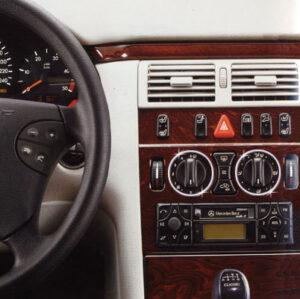 Στεφάνια χρωμίου ταμπλό για Mercedes Benz E-Class W210 & W124, C-Class W202, CLK W208, SLK R170
