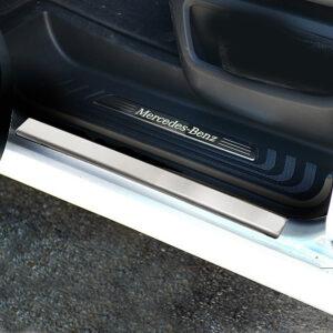 Εσωτερικά μαρσπιέ από ανοξείδωτο βούρτσας για Mercedes Benz Vito/V-Class W447