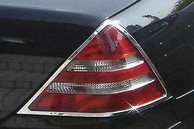 Χρώμια πίσω φαναριών για Mercedes Benz SLK R170