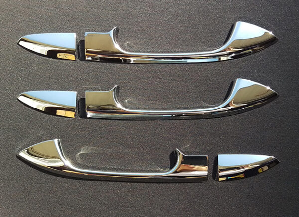 Chrome Door Handle Cover for Mercedes Benz V Class Vito W447 3 doors from 10.2014