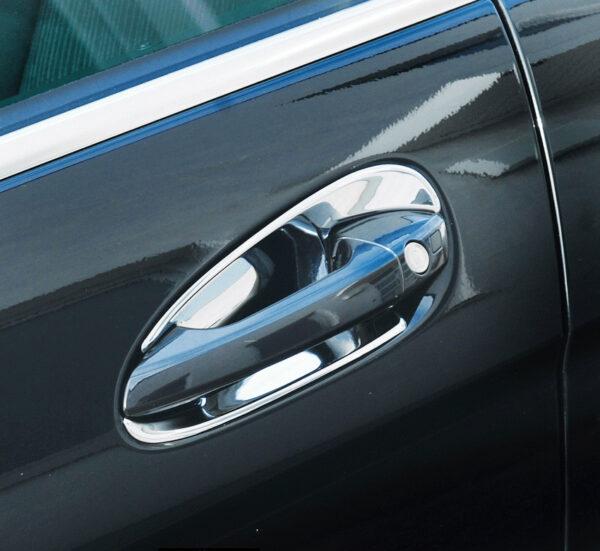 Χούφτες χρωμίου για Mercedes Benz C-Coupé C204, S204, CLA C117, SLK R172
