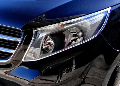 Χρώμια προβολέων για Mercedes Benz Vito/V Class W447 από 10/2014